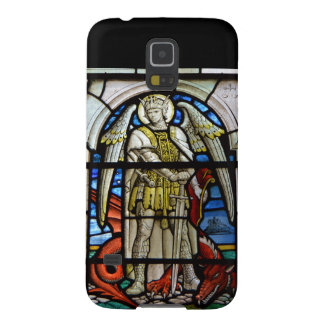 Stained Glass St Michael Helston Cornwall England Galaxy S5 Covers