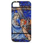 Stained Glass Style Nativity iPhone 5 Cover
