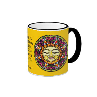 Stained Glass Sun (Personalized Mug)