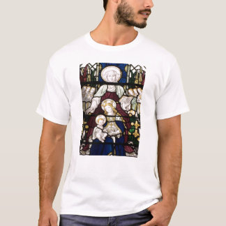 Stained Glass T-Shirt with St Anne, Mary and Jesus