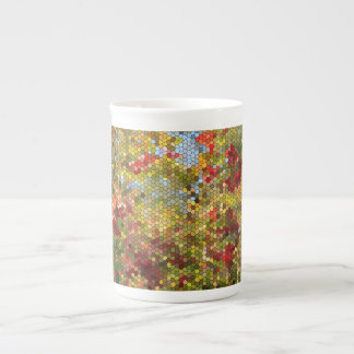 Stained Glass Tea Cup