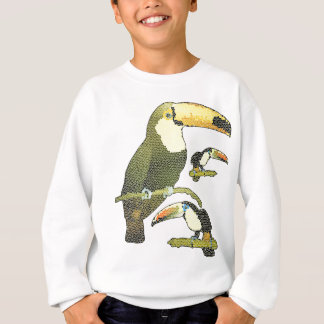 Stained Glass Toucan Sweatshirt