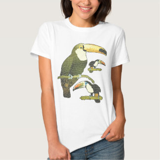Stained Glass Toucan Tee Shirt