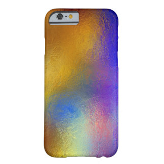 Stained glass, transparent colorful shiny window barely there iPhone 6 case