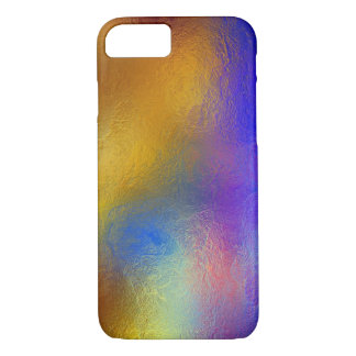 Stained glass, transparent colorful shiny window iPhone 7 case