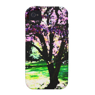 Stained Glass Tree iPhone 4/4S Cover