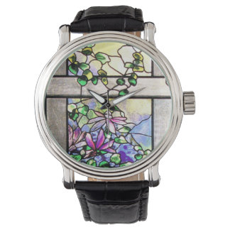 men s tiffany watches zazzle stained glass watch