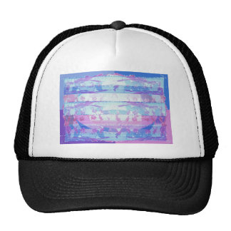 Stained Glass Waves : Navins Signature Style Trucker Hat
