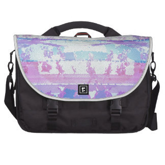 Stained Glass Waves : Navins Signature Style Laptop Bags