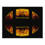 """Stained Glass Window 4.25"""" X 5.5"""" Invitation Card"""