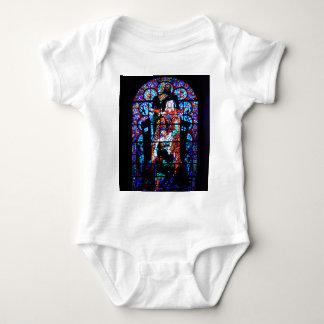 Stained Glass Window Baby Bodysuit