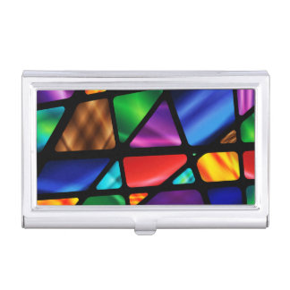 Stained Glass Window Business Card Holder