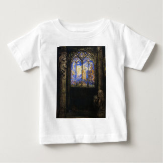 Stained Glass Window by Odilon Redon Baby T-Shirt