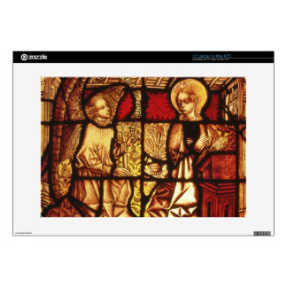 """Stained glass window depicting the Annunciation, G Skin For 15"""" Laptop"""