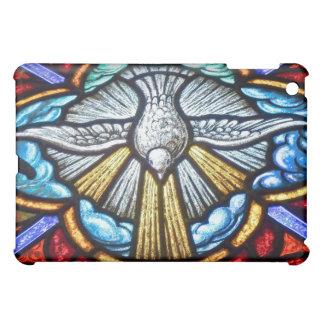 Stained Glass Window Dove  iPad Mini Covers