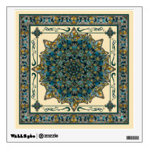 Stained Glass Window Frame Mandala Decal
