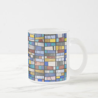 Stained Glass Window Frosted Glass Coffee Mug