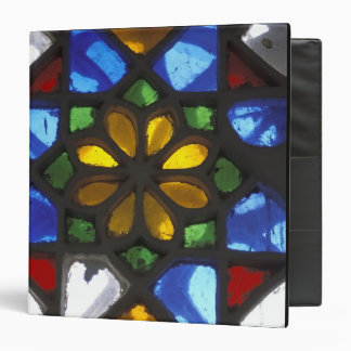 Stained glass window inside the National 3 Ring Binder