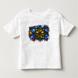 Stained glass window inside the National Toddler T-shirt
