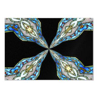 Stained Glass Window Kaleidoscope 16 Card