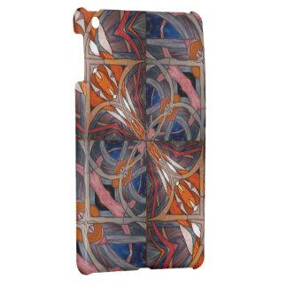 Stained Glass Window Kaleidoscope 18 iPad Mini Cover