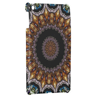 Stained Glass Window Kaleidoscope 21 Cover For The iPad Mini
