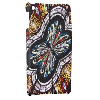 Stained Glass Window Kaleidoscope 22 iPad Mini Case