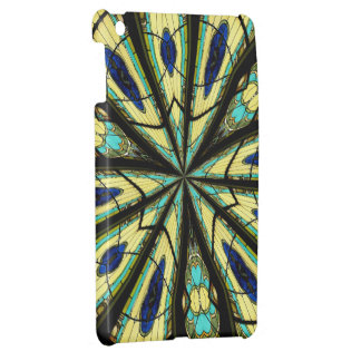 Stained Glass Window Kaleidoscope 23 Cover For The iPad Mini