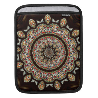 Stained Glass Window Kaleidoscope 8 Sleeve For iPads