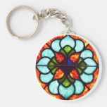 Stained Glass Window Keychains