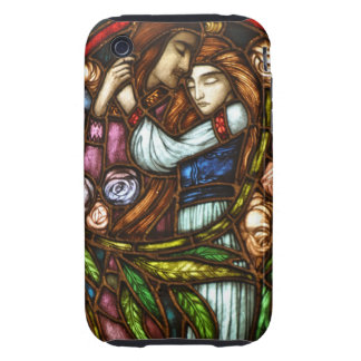 Stained Glass Window - Lovers Tough iPhone 3 Cover