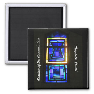Stained Glass Window Magnet 1