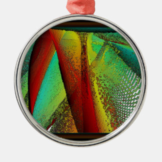 Stained Glass Window Metal Ornament