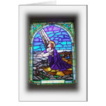 Stained Glass Window Notecard Greeting Card