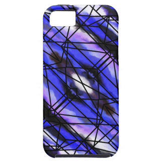 Stained Glass Window of the Sky iPhone SE/5/5s Case