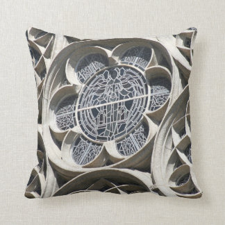 Stained glass window pillow