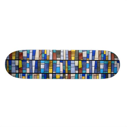 Stained Glass Window Skate Deck