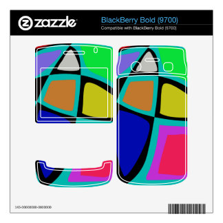 Stained Glass Window Skins For BlackBerry Bold