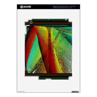 Stained Glass Window Skin For iPad 3