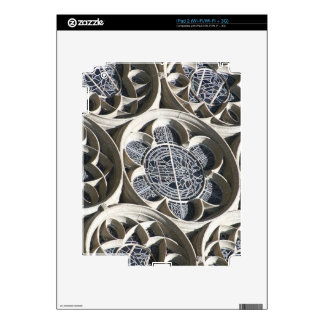 Stained glass window skins for iPad 2