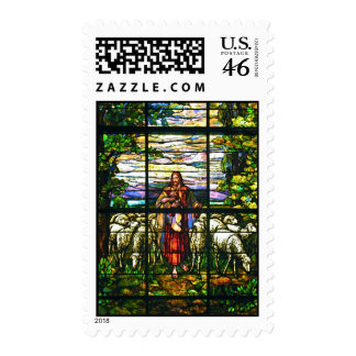 Stained Glass Window Stamp