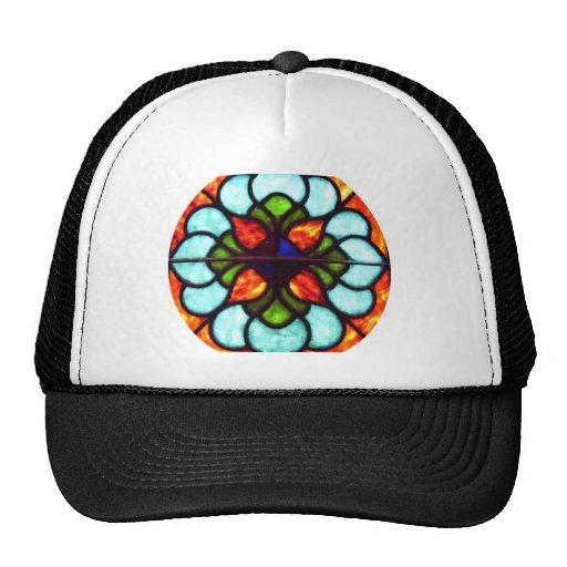 Stained Glass Window Trucker Hat
