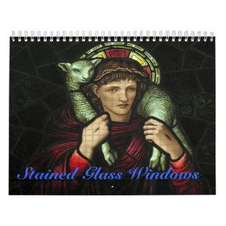 Stained Glass Windows Calendar
