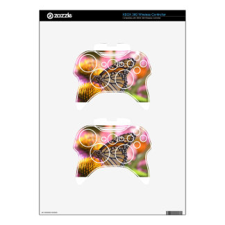 Stained Glass Wings Xbox 360 Controller Skins