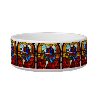 Stained Glass Worker Bowl