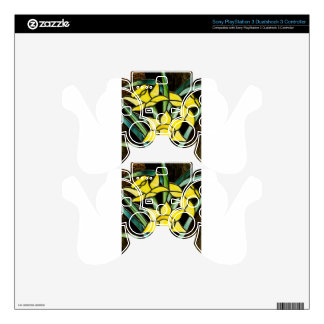stained glass - WOWCOCO PS3 Controller Skins