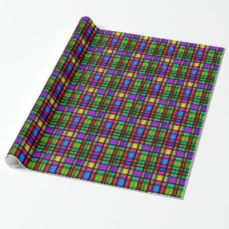 Stained Glass Wrapping Paper