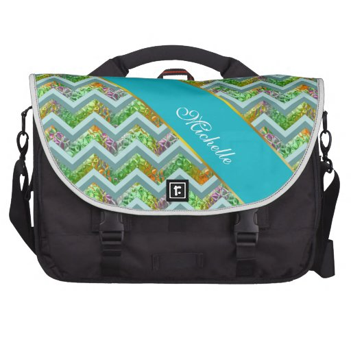 Stained Glass ZigZag Laptop Bags