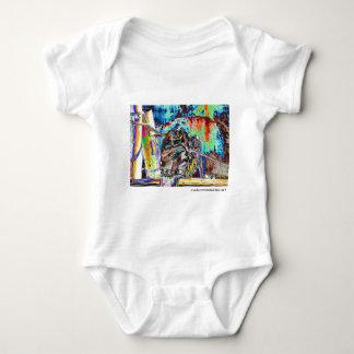 Stained Gorilla Baby Bodysuit