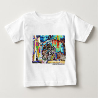 Stained Gorilla Baby T-Shirt